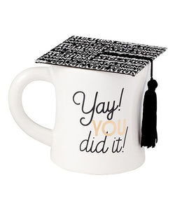 Yeah You Did It Graduation Coffee Mug