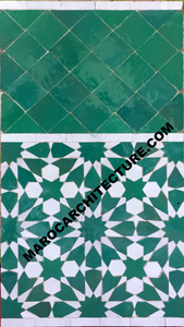 Moroccan mosaic tiles for bathroom