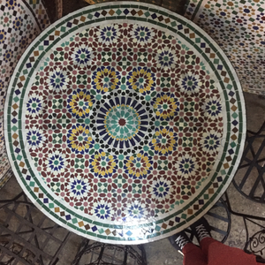 MOROCCAN MOSAIC TABLE 2402