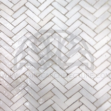 Glazed Bijmat Tile - Porcelain White #28