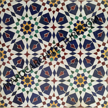 Moroccan mosaic tiles for kitchen backsplash