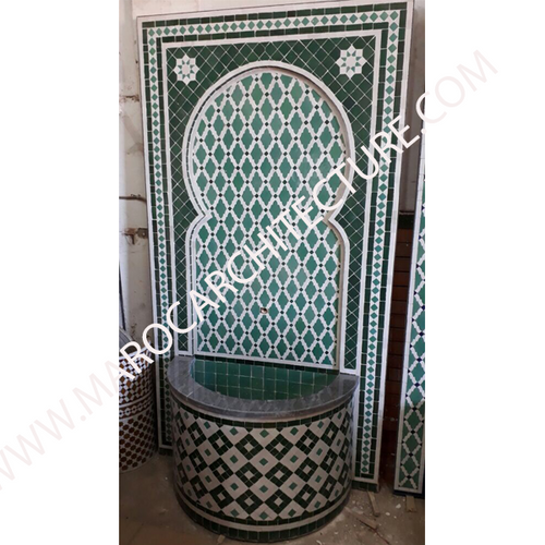 Moroccan Mosaic Wall Fountains 2
