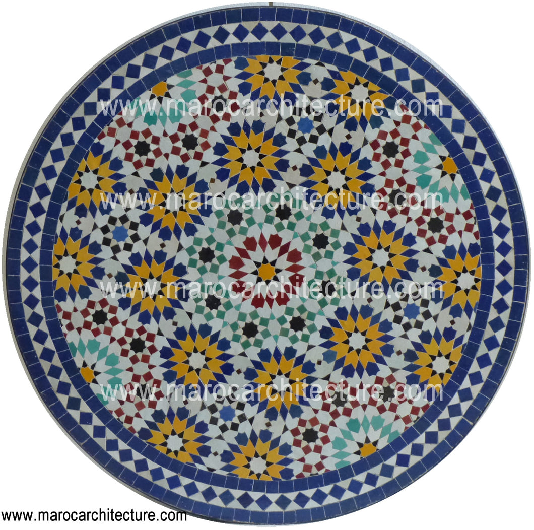 Mosaic Table 1882