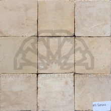 Moroccan natural zellij tiles