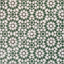Moroccan mosaic tiles for wall niche