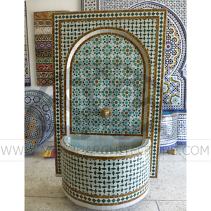 Moroccan Mosaic Fountain 18014