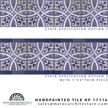 hand painted moroccan tiles