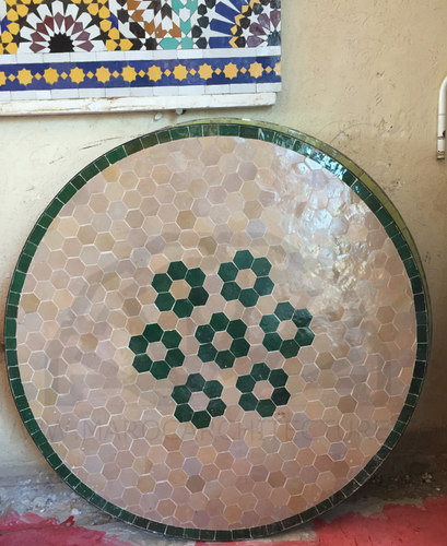 MOROCCAN MOSAIC TABLE 6181
