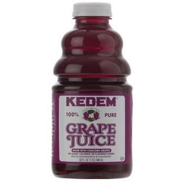 Kedem Concord Grape Juice 96oz (2.9 L)