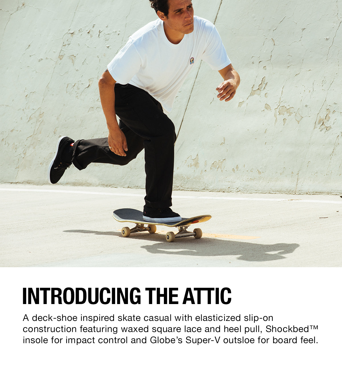 Globe Brand Shoes, The Attic
