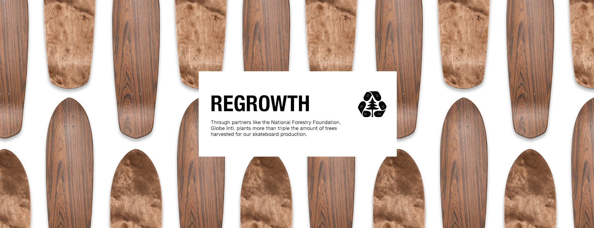 Globe Brand Regrowth