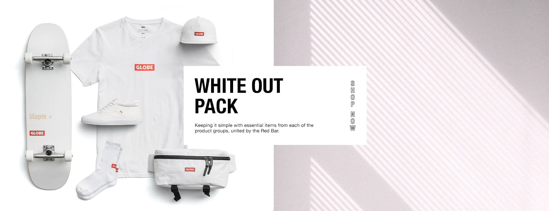 Globe Brand White out collection