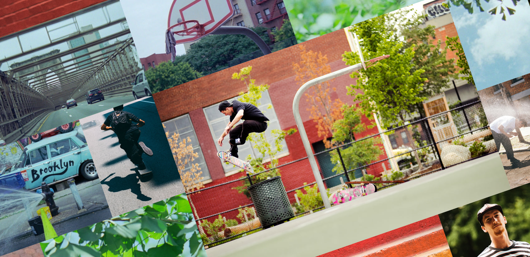 Globe Brand Leaves in the Concrete NYC skate edit