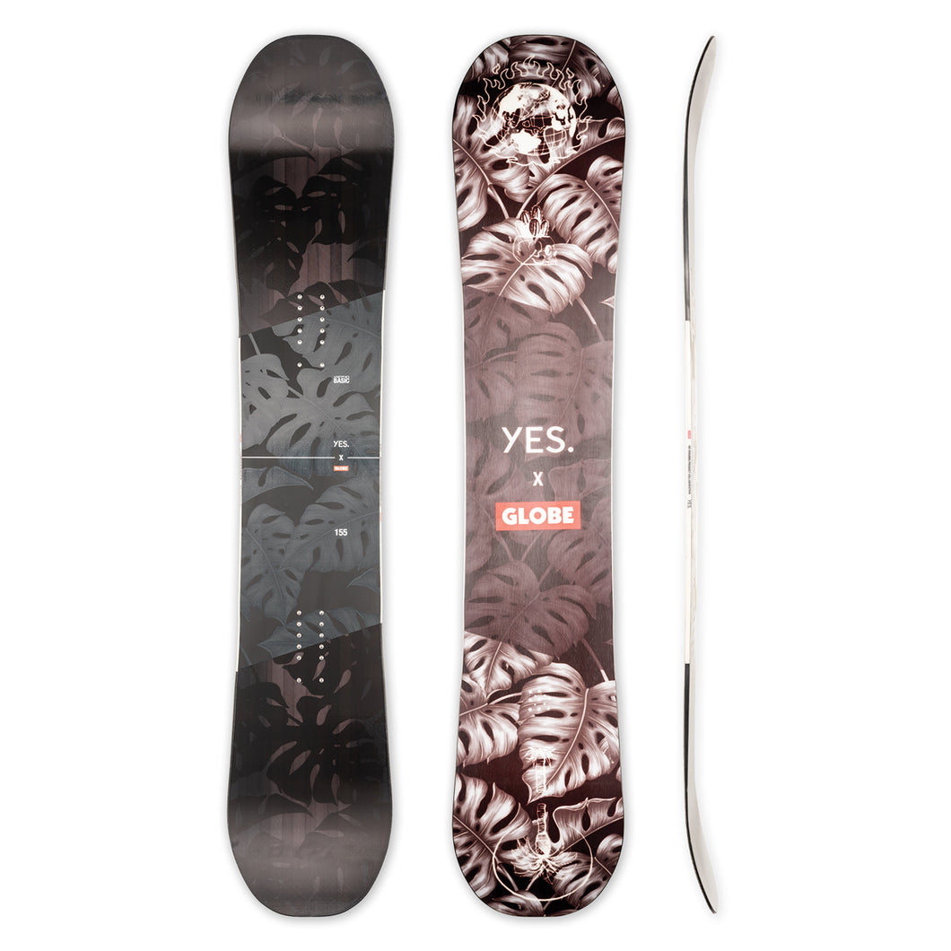 Yes. X Globe Not So Basic 155 Snowboard