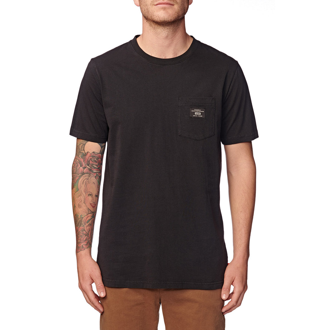 Globe Brand pocket t-shirt.