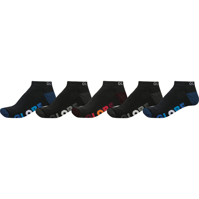 Multi Stripe Ankle Sock 5 Pack