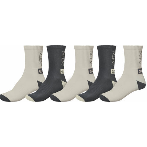 Wasted Talent Sock 5 Pack