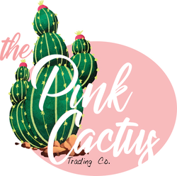 The Pink Cactus Trading Co. Logo