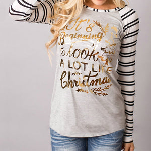 It's Beginning To Look A Lot Like Christmas - Long Sleeve Tee