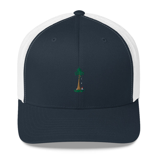 Classic Fit Yoga Ohm Gnomie Gnome Smoking Herb Trucker Cap