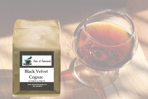 Black Velvet Cognac Flavored Coffee