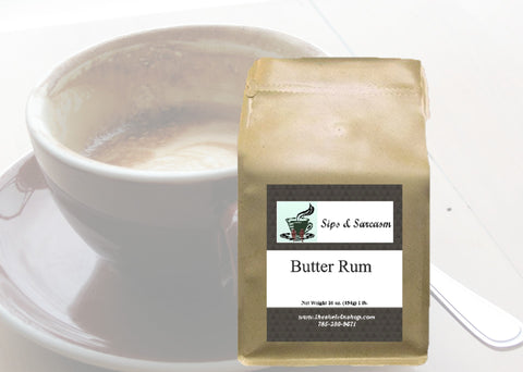 Butter Rum Flavored Coffee