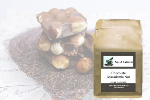 Chocolate Macadamia Nut Flavored Coffee