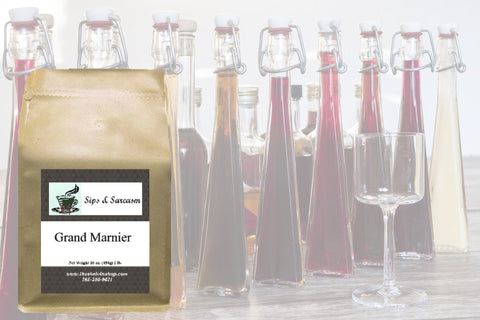 Grand Marnier Flavored Coffee