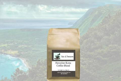 Hawaiian Kona Coffee Blend