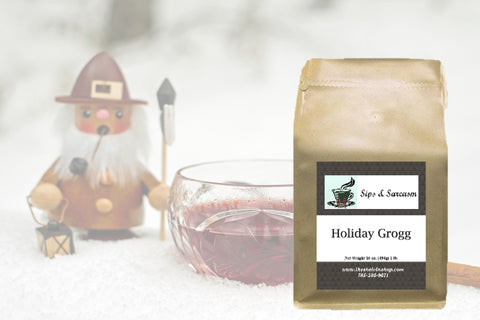 Holiday Grogg Flavored Coffee