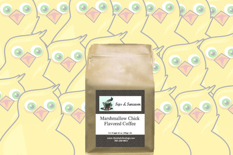 Marshmallow Chicks Flavored Coffee
