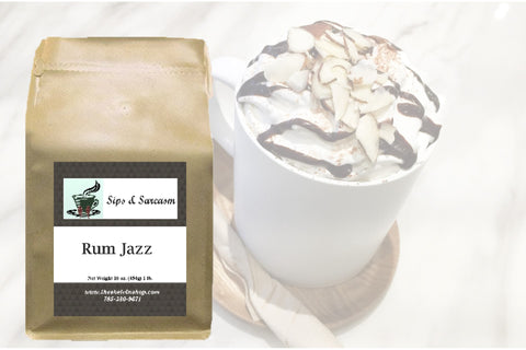 Rum Jazz Flavored Coffee