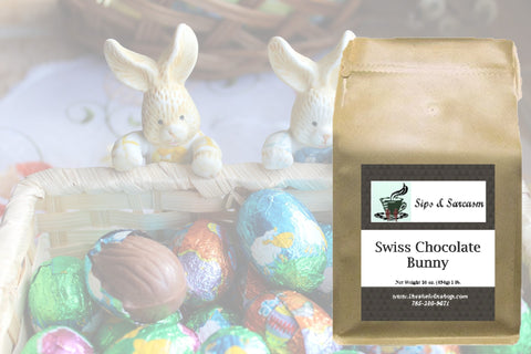 Swiss Chocolate Bunny Flavored Coffee
