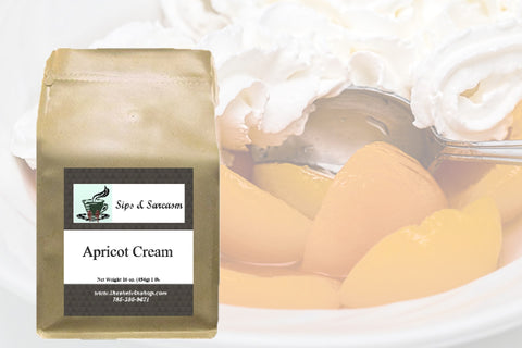 Apricot Cream Flavored Coffee