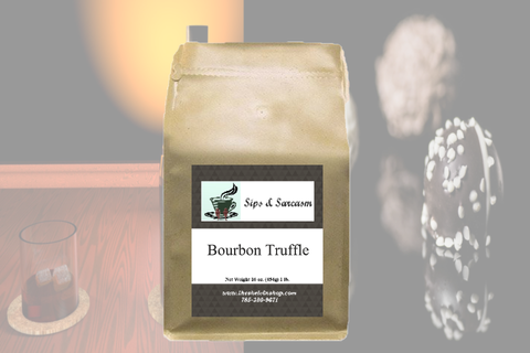 Bourbon Truffle Flavored Coffee