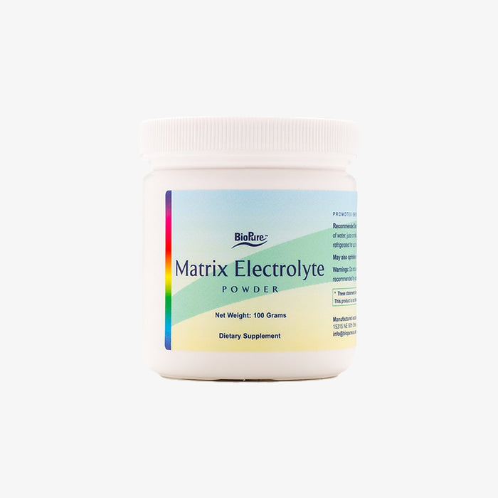 BioPure - Matrix Electrolyte Powder - Dietary Supplement - 100 Grams