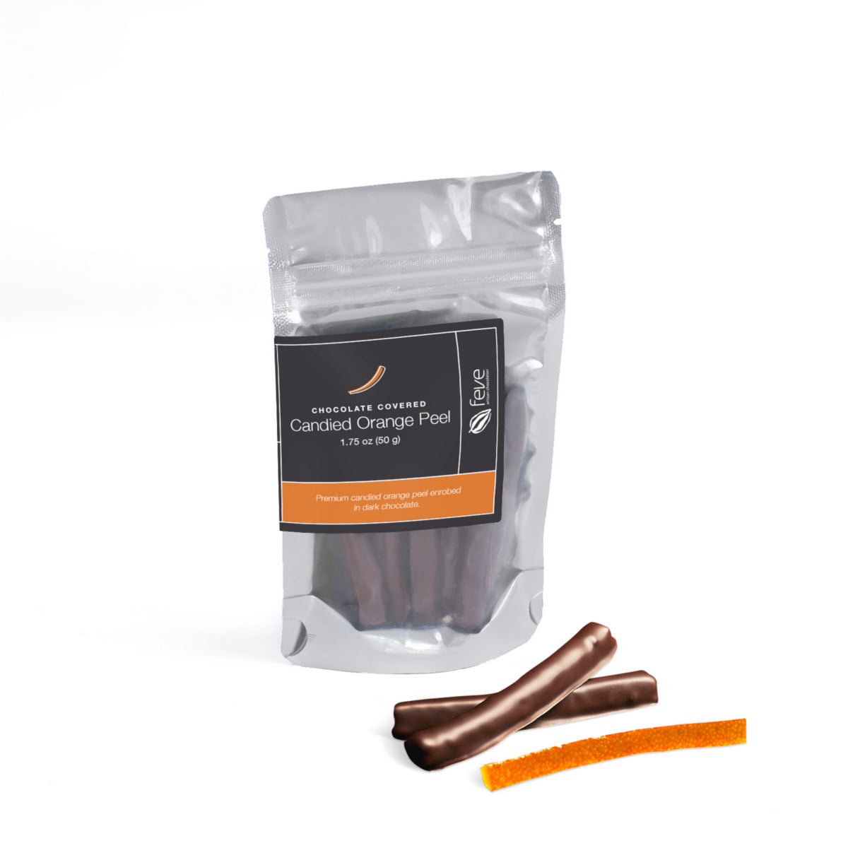 Feve Candied Orange Peel 1.75 oz