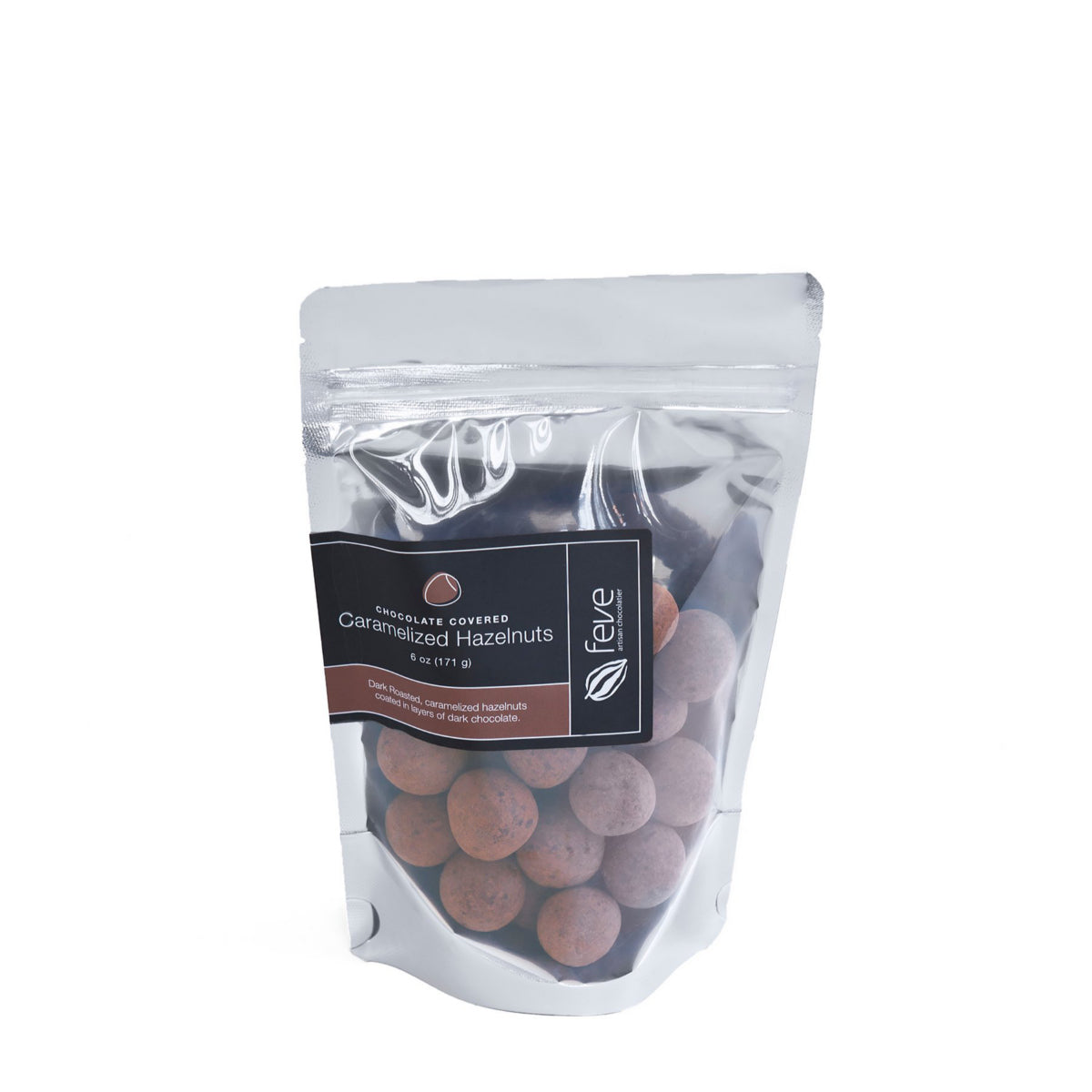Feve Chocolate Hazelnuts 6 oz