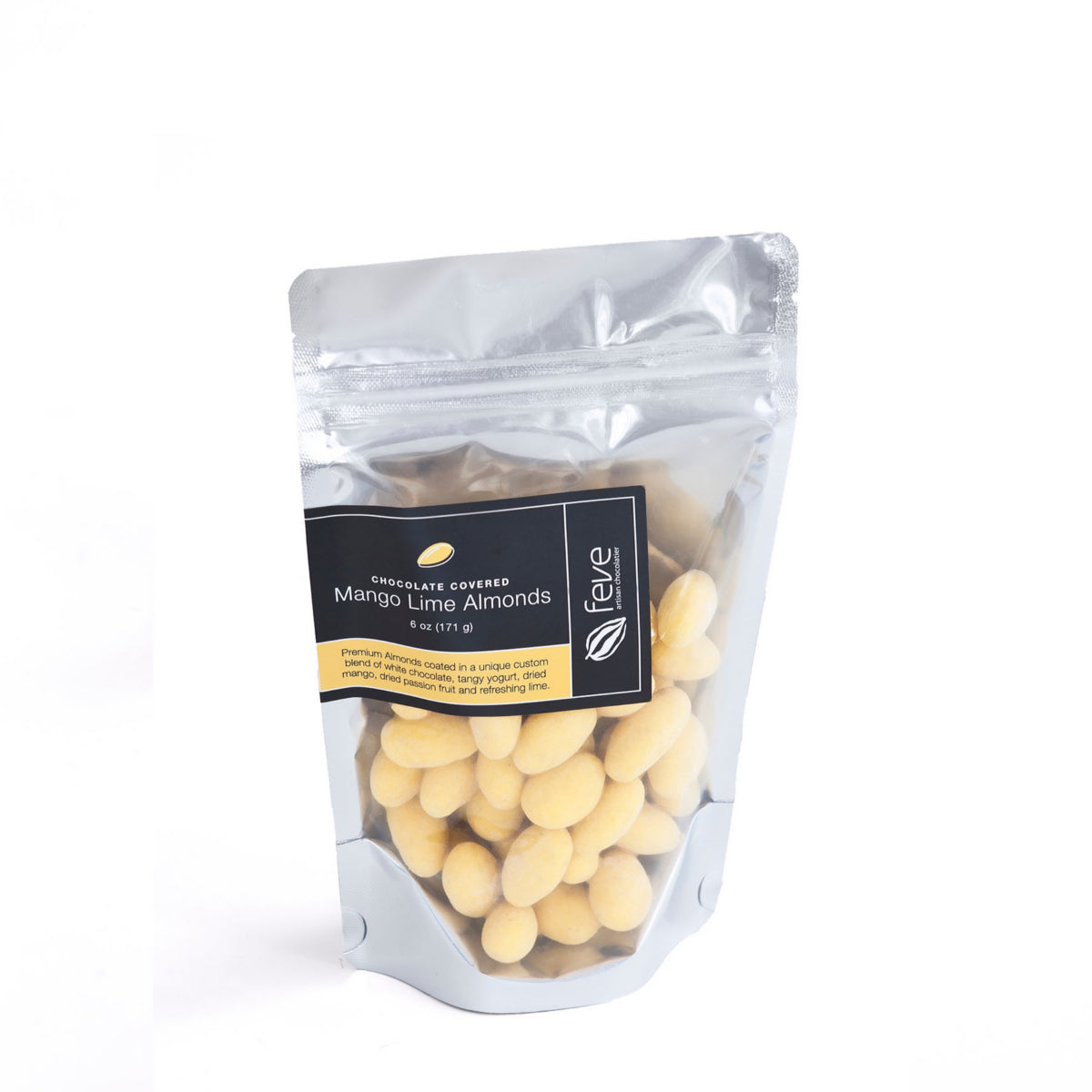 Feve Mango Lime Almonds 6 oz