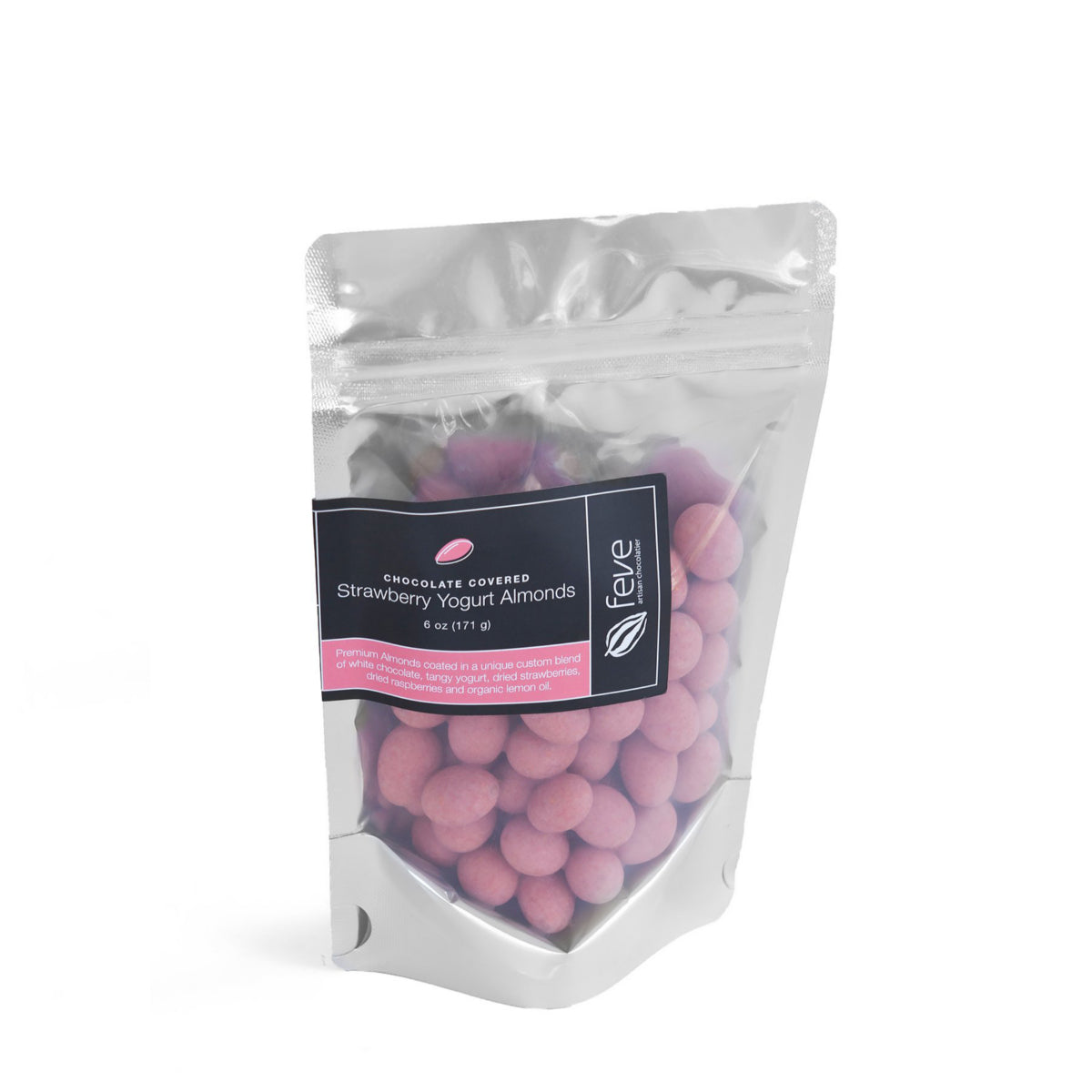 Feve Strawberry Yogurt Almonds 6 oz