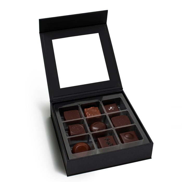 9 piece Feve Natural Collection Chocolates