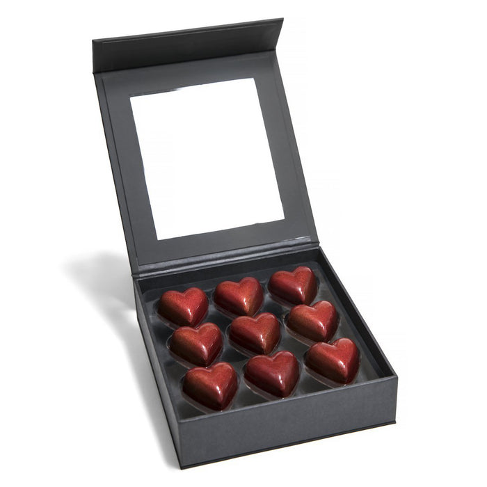 9 piece Feve Passion Fruit Hearts