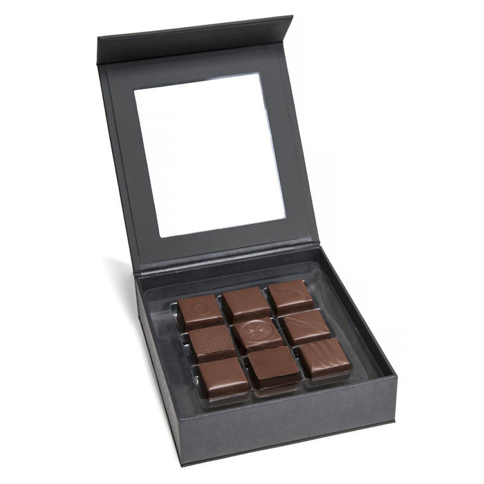 9 piece Feve Single Origin Dark Chocolate Truffles