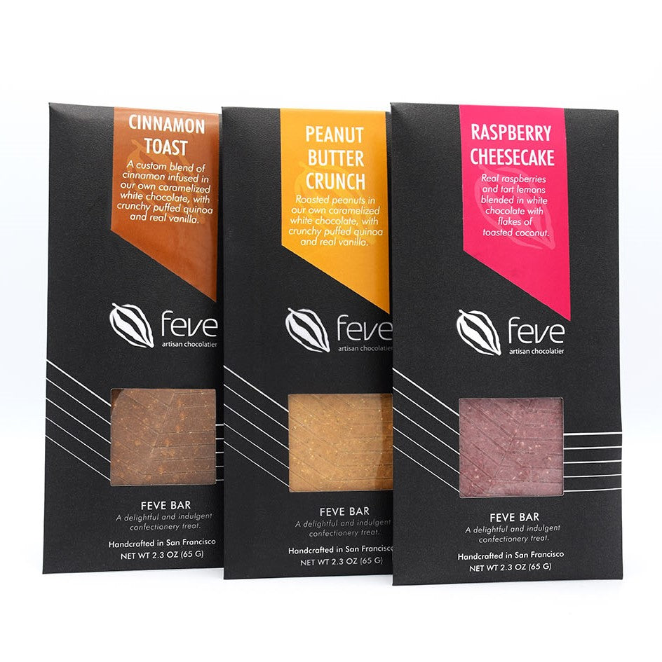 Feve Confection Bars 3 Pack