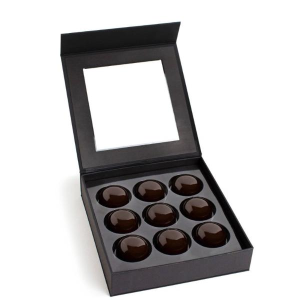 9 piece Feve Sea Salt Caramels