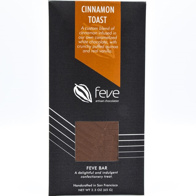 Feve Bar Cinnamon Toast