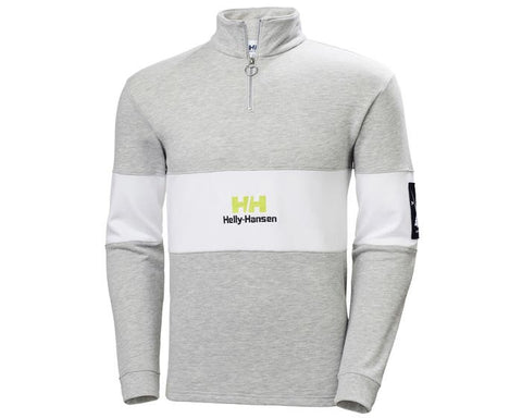 Helly Hansen YU20 1/2 ZIP SWEAT Grey Melang