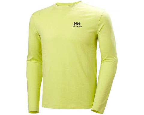 Helly Hansen YU20 LS T-SHIRT Lime