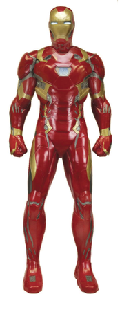 CAPTAIN AMERICA CIVIL WAR IRON MAN 1/1 FOAM REPLICA