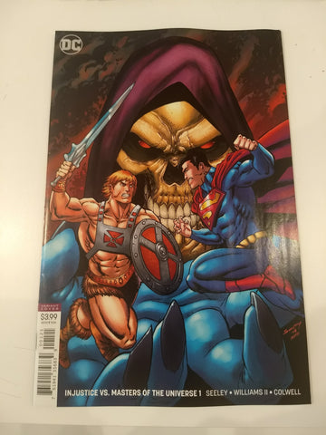 Injustice vs. Masters of the Universe #1 var